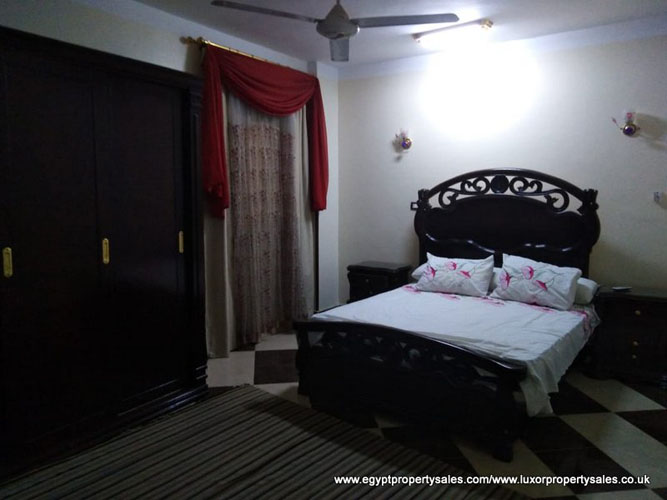 EB1939R Nice apartment for rent in Luxor with two bedrooms