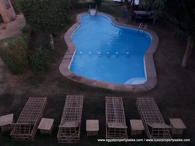 WB1935 Hotel with a swimming pool for sale or rent in Egypt, Luxor