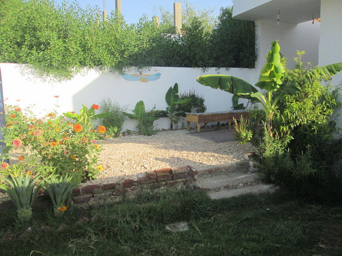 WB1924R Bungalow style house for rent in quiet street of Ramla West Bank Luxor