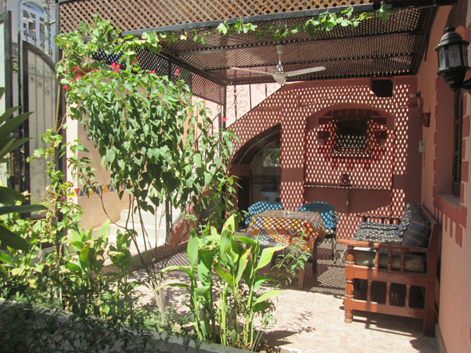 WB1838R One storey villa with two bedrooms for rent and sale in West Bank of Luxor