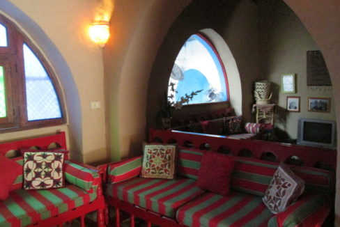 WB104S Spacious guest house for sale in Luxor known as Scorpion House