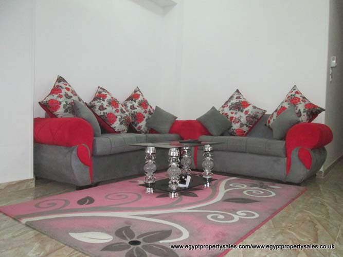 WB1807R Simple first floor one bedroom flat for rent in west bank of Luxor