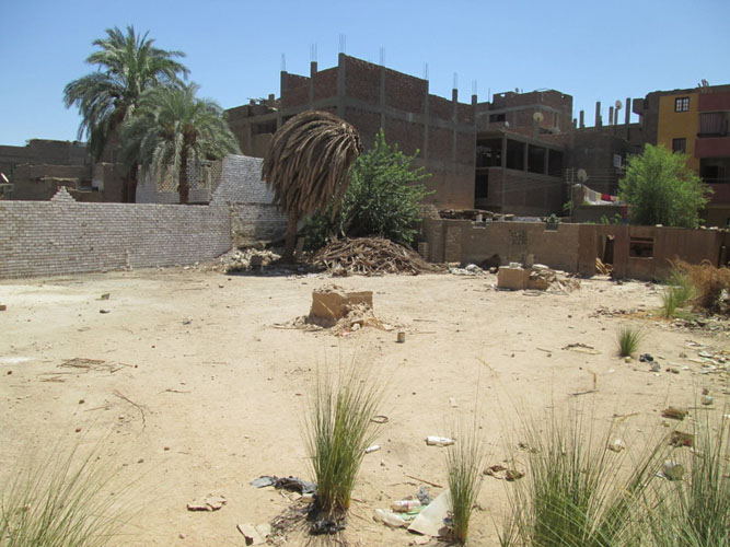 LAN26S Two pieces of land for sale near to Karnak Temple Luxor