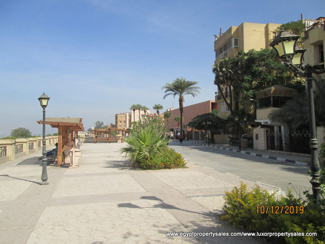 EB1920S Two bedroom apartment for sale next to Luxor Museum in Egypt