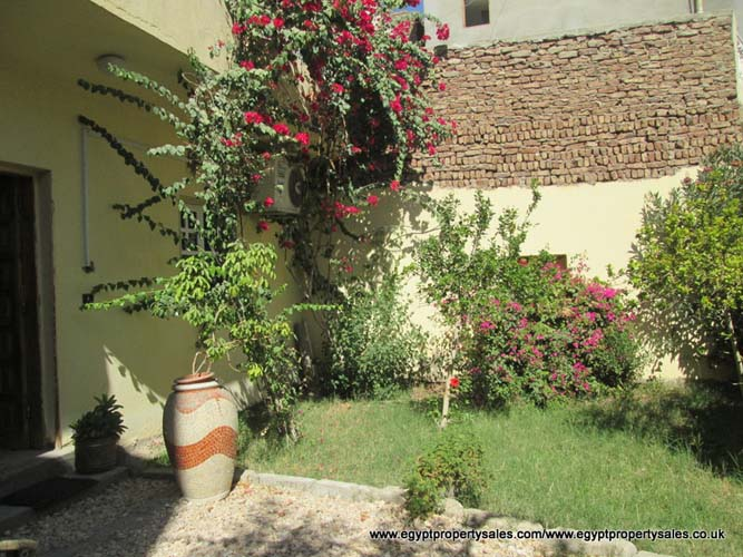 WB1727R Villa for rent in Luxor with front & rear gardens