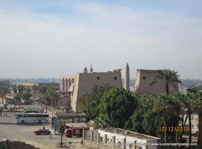 EB1951R Amazing flat for rent in front Luxor temple on East bank of Luxor